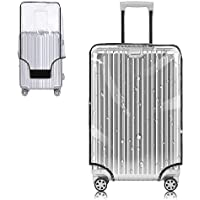 Yotako Clear PVC Suitcase Cover Protectors 20 Inch Luggage Cover for Wheeled Suitcase (20''(18.50''H x 14.17''L x 9.44…