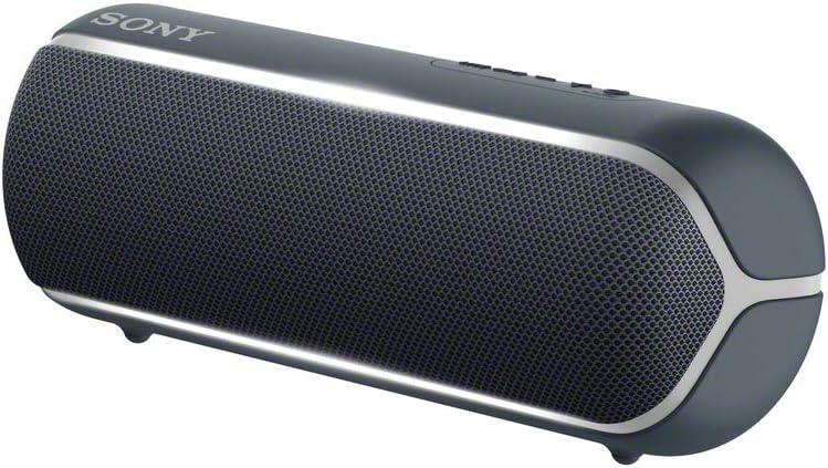 Sony SRSX-B22, Altavoz, Inalámbrico y alámbrico, MicroUSB, Tamaño Único, Negro