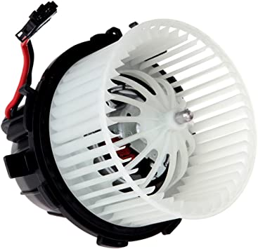 Front HVAC Heater Blower Motor W//Fan fits Audi ABS Plastic 615-50171 700291
