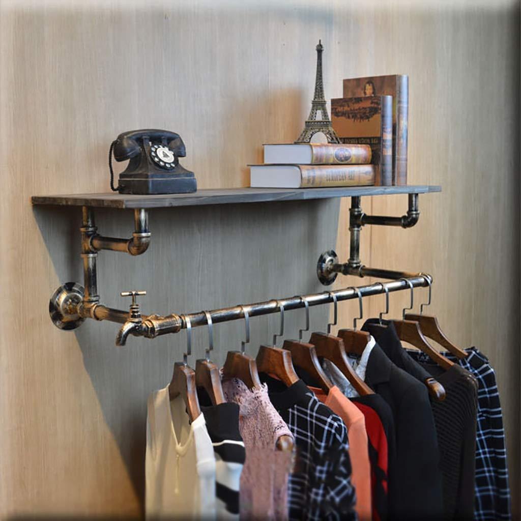 Amazon.com: JF-YMJ Retro Industrial Wind Clothing Store ...