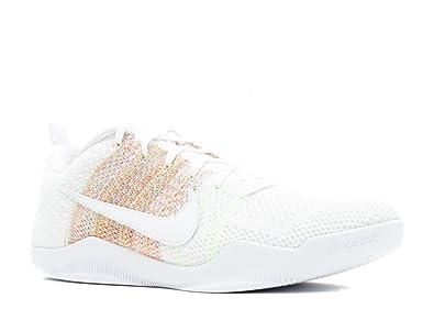 Nike Men's Kobe XI Elite Low 4KB, 4KB-WHITE/MULTI-COLOR-
