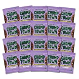 Chomptown | Nutty Fudge Brownie | High-Protein Cookie | 11g Protein | Gluten-Free | Dairy-Free | Non-GMO | Fair Trade | 2.75 oz (Pack of 20)