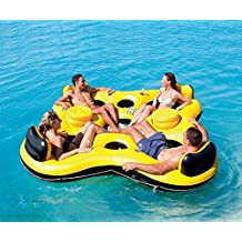 Bestway Rapid Rider X4 Inflatable 4-Person Floating Island Seat by Bestway Toys Domestic