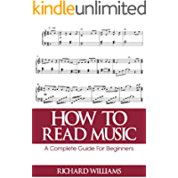 HOW TO READ MUSIC: A Complete Guide For Beginners book cover
