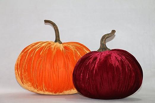 Amazon Com Rg Style 2 Piece Velvet Set Inflatable Pumpkin Home Kitchen