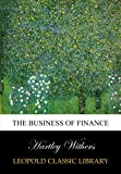 img - for The business of finance book / textbook / text book