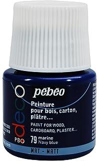 Pébéo 204024 Déco Acrylique Mat 1 Flacon Rouge 45 Ml Amazonfr