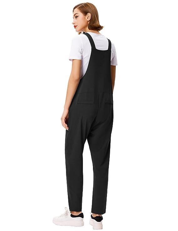 28a0f3d8e5 Amazon.com  GRACE KARIN Women s Casual Overalls Baggy Jumpsuit Romper Bib  Pants  Clothing