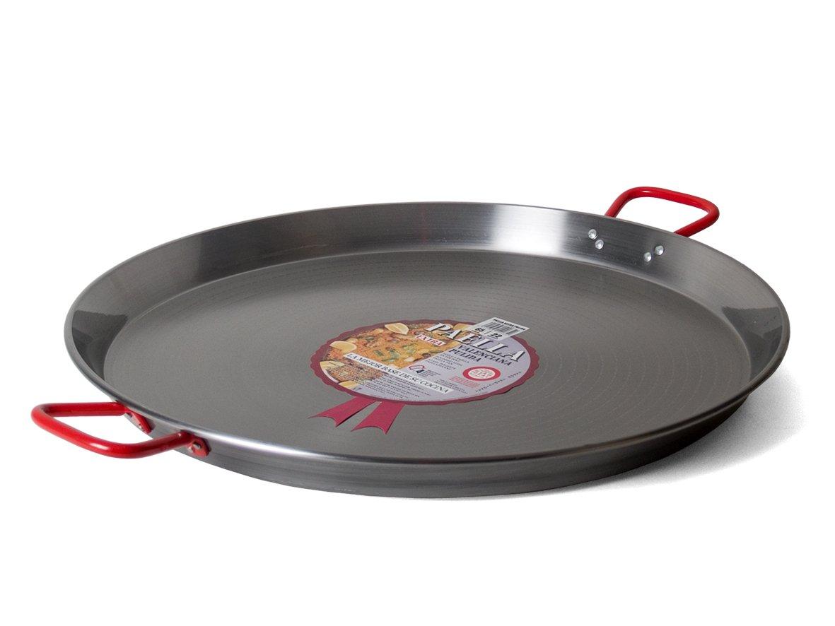 Garcima 23.75-Inch Carbon Steel Paella Pan, 60cm by Garcima
