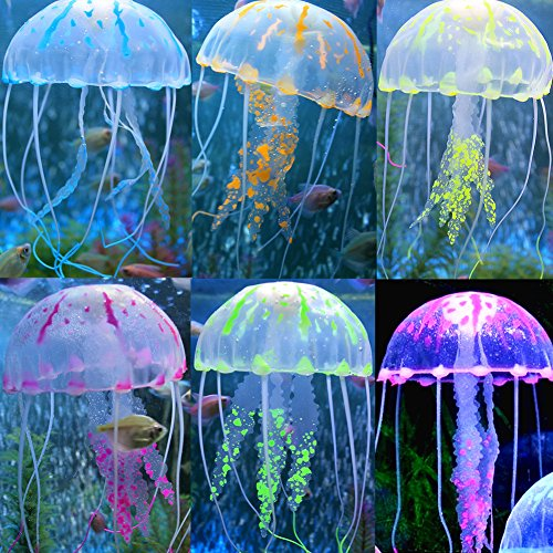 Moving Jellyfish Tank With Led Lights