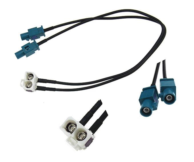 Radio Antena Cable Adaptador De Antena 32cm para VW SEAT SKODA RNS RCD 510 310 315