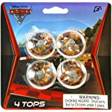 Disney Cars Spinning Tops (1) Party Accessory