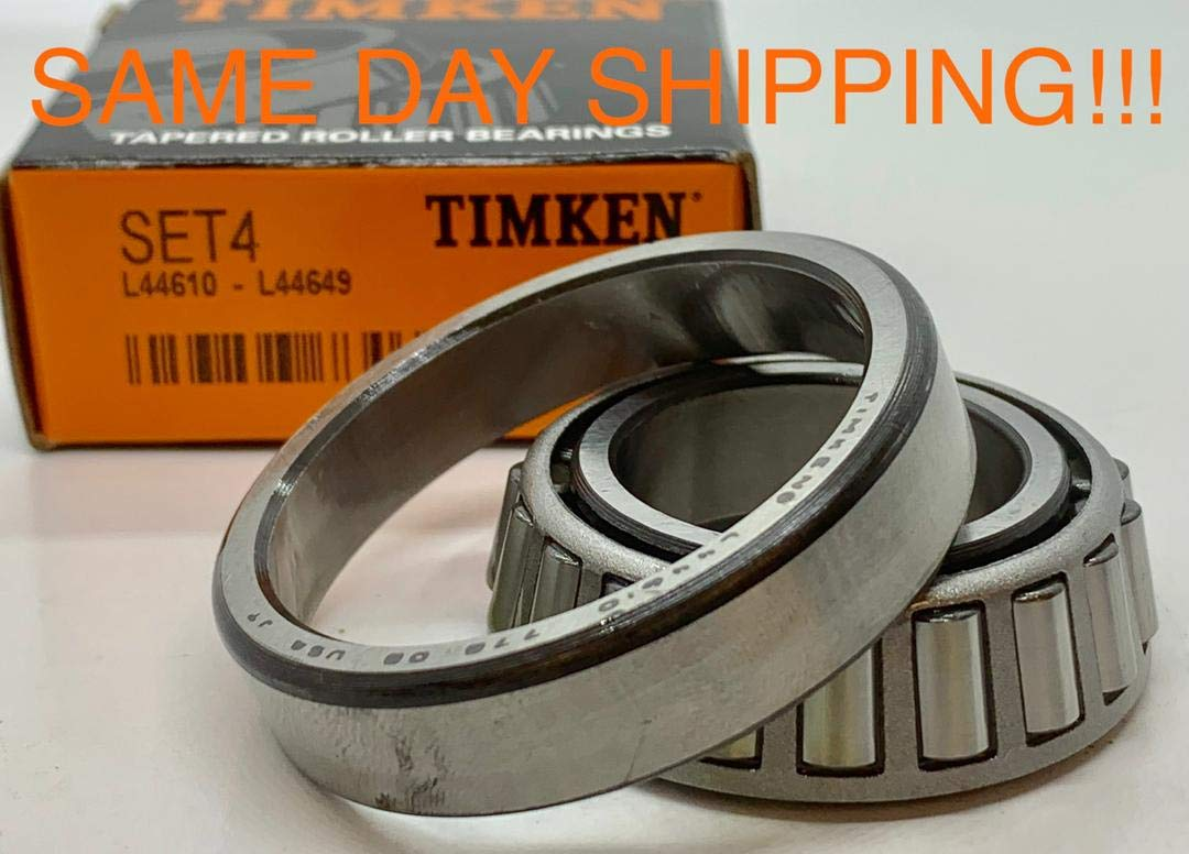 ONE Cup /&  ONE Cone Set free shipping L44649 /& L44610 Timken Set 4 Set4,