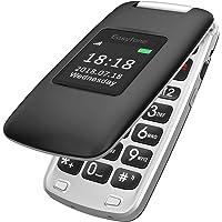 Easyfone Prime-A1 gsm Teléfono Móvil para Mayores con Tapa y Teclas Grandes, Audífono con Compatibles, SOS Botones…
