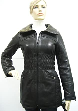 Baby Phat Clothes Cool Amazon Baby Phat Leather Winter Coat In Black Large 60BP