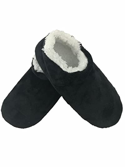 a5e16248c83 dai tai Mens Autumn Winter Indoor Non-Skid Floor Shoes Slippers Socks  HGTCSGB700-BALCK