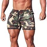 Magiftbox Bañador de malla de secado rápido para hombre, pantalones cortos de natación de 5 pulgadas, pantalones cortos de en