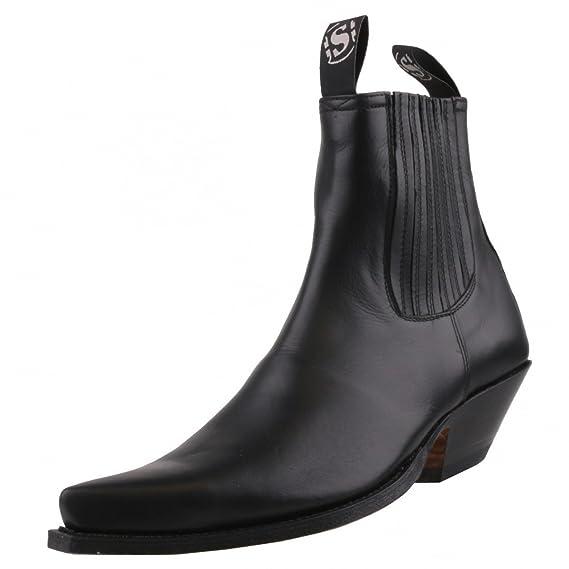 52d13cfae9ac3 Sendra 1692 Black Black Size: 10: Amazon.co.uk: Shoes & Bags
