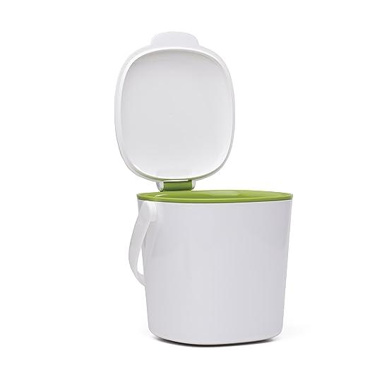 oxo good grips compost bin whitegreen