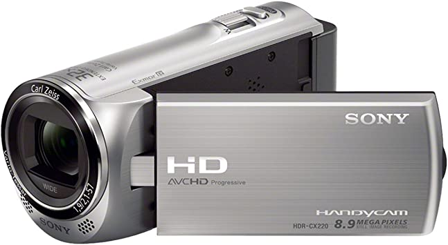 Sony Hdr Cx220es Hd Flash Camcorder 50p Silber Kamera