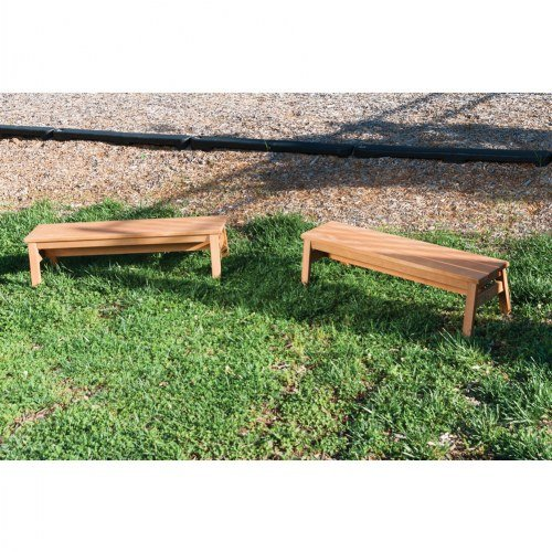 Kaplan Early Learning Company Outdoor Wooden Stacking Benches (Set of 2) by Kaplan Early Learning Company (Image #3)