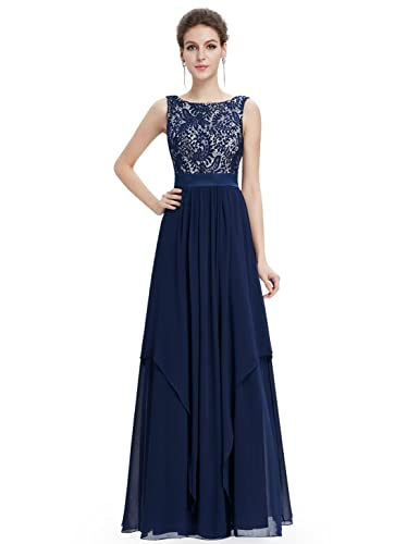 Ever Pretty Elegant Sleeveless Round Neck Evening Party Dress 08217