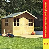 BillyOh Lollipop Junior Childrens Wooden Playhouse 9 x 5