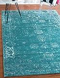 Unique Loom Sofia Collection Turquoise 8 x 10 Area