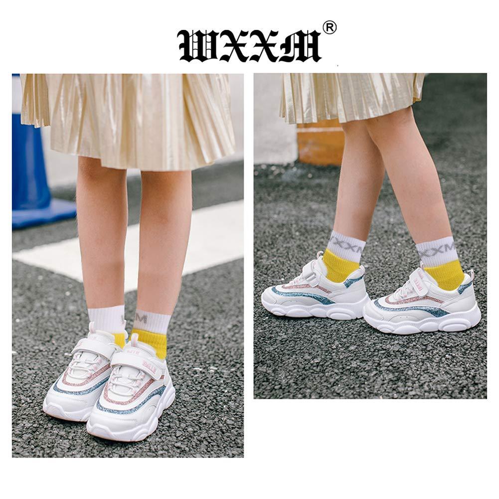 WXXM Black Friday Kids Boys//Girls Cushioned Crew Athletic Running Walking Socks 6 pairs multicolored XS