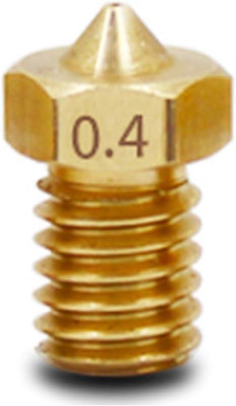 MadridGadgetStore® Cabezal Cabeza Boquilla 0.4 mm 0.4mm para ...