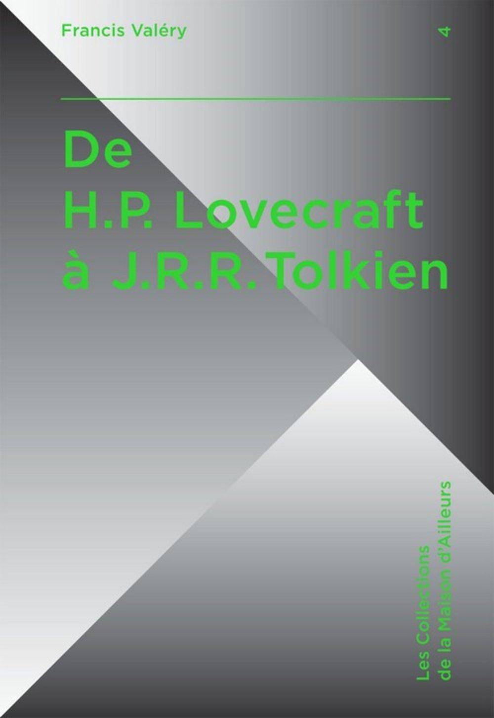 De Hp Lovecraft à Jrr Tolkien Lovecraft Tolkien Créateurs D