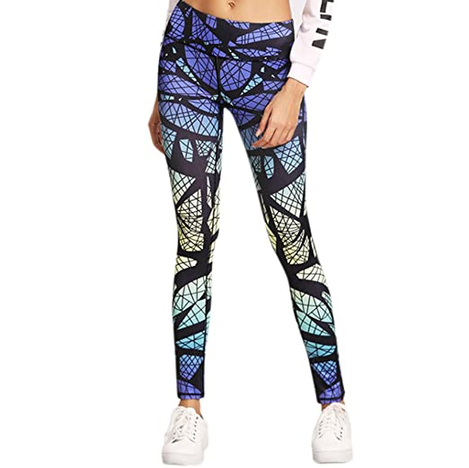5588f14564da67 Amazon.com: URIBAKE ❤ Women's Leggings Printed Breathable Workout Fitness  Sports Gym Running Yoga Athletic Pants: Clothing