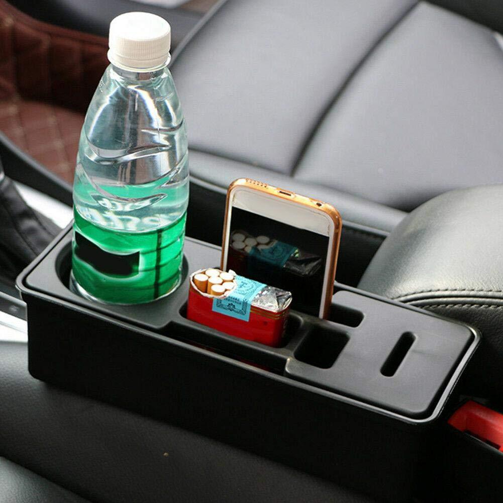 riverbin Creative Storage Box Car Seat Crevice Organizer Coin Phone Cup Holder