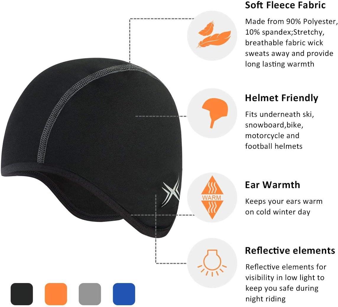 BALEAF Skull Cap Cycling Running Skiing Beanie Thermal Helmet Liner Bike Caps