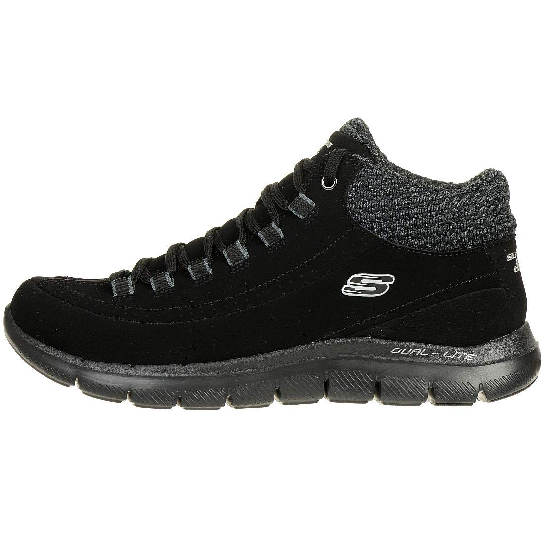 Skechers Nights Warm Women Flex 0 2 Lite Snowy Sneaker Appeal Dual c3ARjq54L