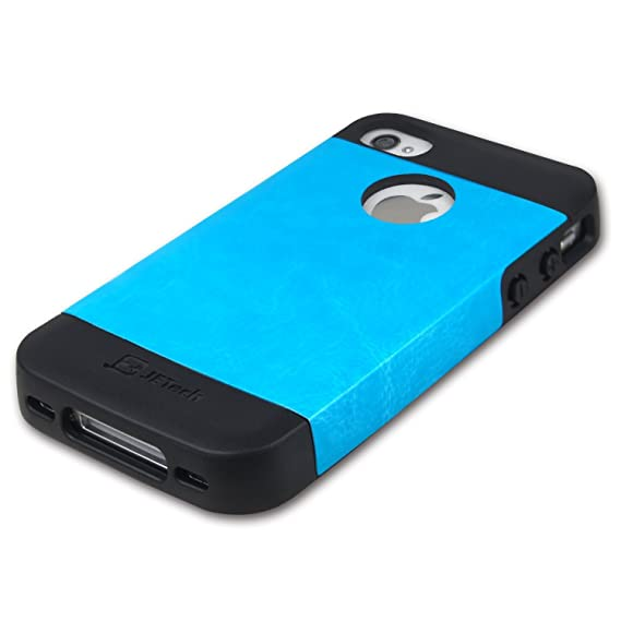 online store 9e26c fa1f9 JETech Case for iPhone 4s and iPhone 4, Blue