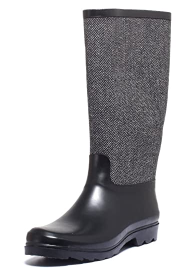 Frau im Freien regen Stiefel , gray , 40