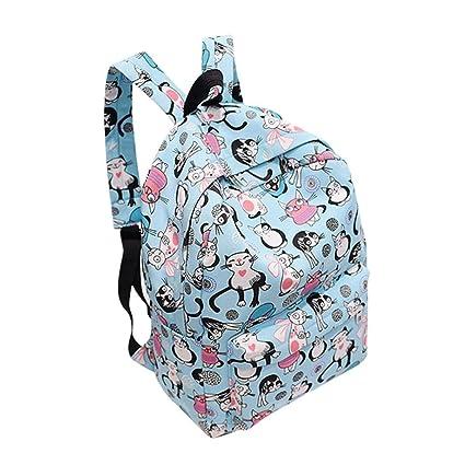 ec9101bc62a8 Amazon.com: Outsta Fashion Cute Cat Backpack, Neutral School ...