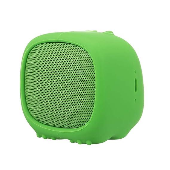 Docooler Smalody Mini Altavoz Bluetooth Caja de Sonido portátil Altavoces de Conejo Lindo con Ranura de micrófono TF para iPhone Samsung Teléfono Inteligente: Amazon.es: Electrónica