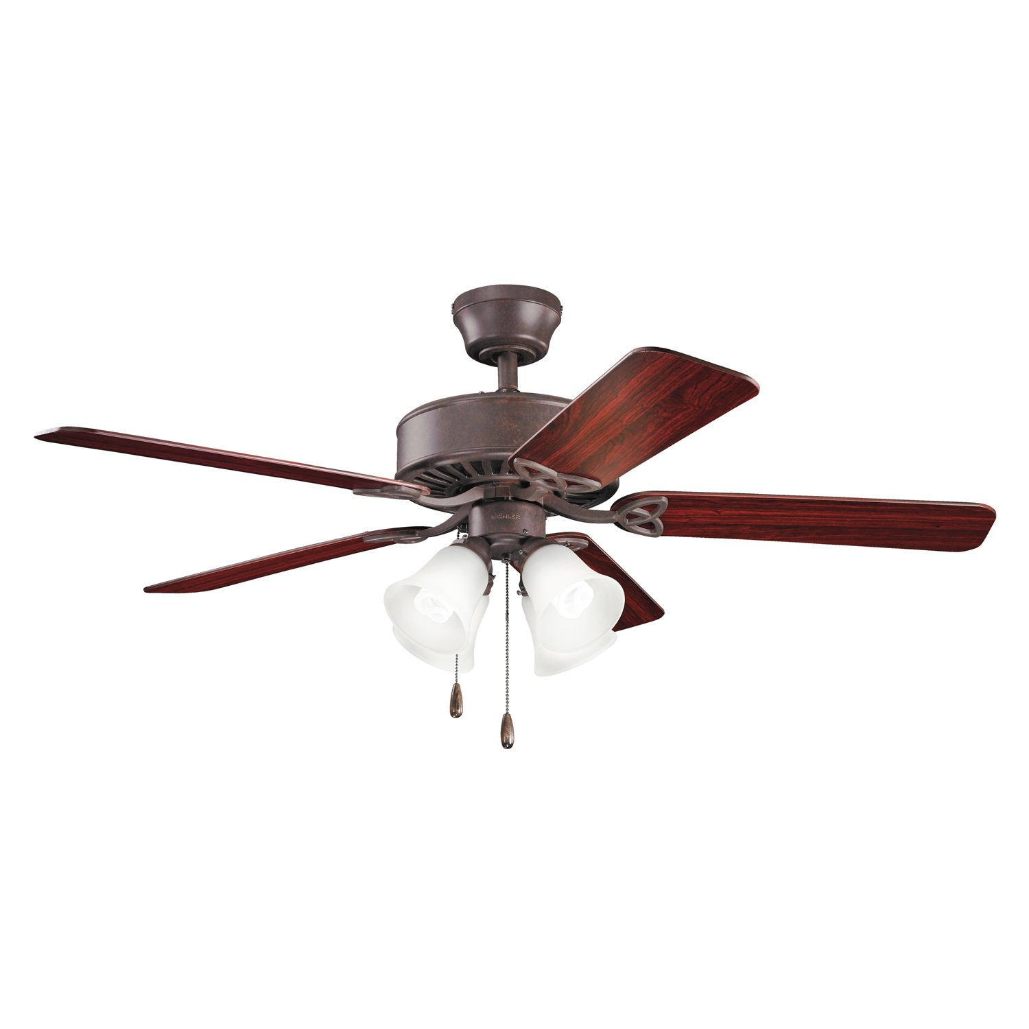 Kichler 339240NI 50-Inch Renew Premier Fan, Brushed Nickel - - Amazon.com