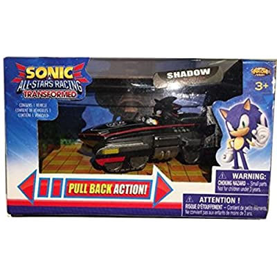 Sonic All Stars Racing Pull Back Action - Shadow lovely