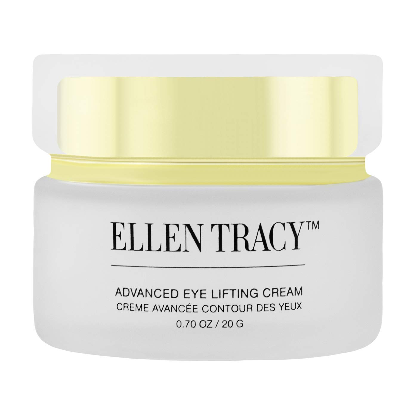 Ellen Tracy Advanced Eye Lifting Cream for Anti Aging, Under Eye Bags Puffiness and Dark Circles Treatment, Moisturizing and Firming, Reduces Wrinkles, Fine Lines, Crows Feet, Womens Eye Care /.70 OZ
