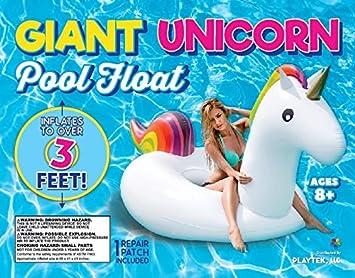 Pink Playtek Pool Float Giant Flamingo Raft
