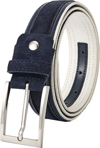 Ground Mind Cinturón de golf para hombre Cinturón de tela de ...