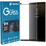 Tersely Screen Protector for Galaxy S9, Full Cover 4D Tempered Glass Screen Protector for Samsung Galaxy S9, Film Guard…