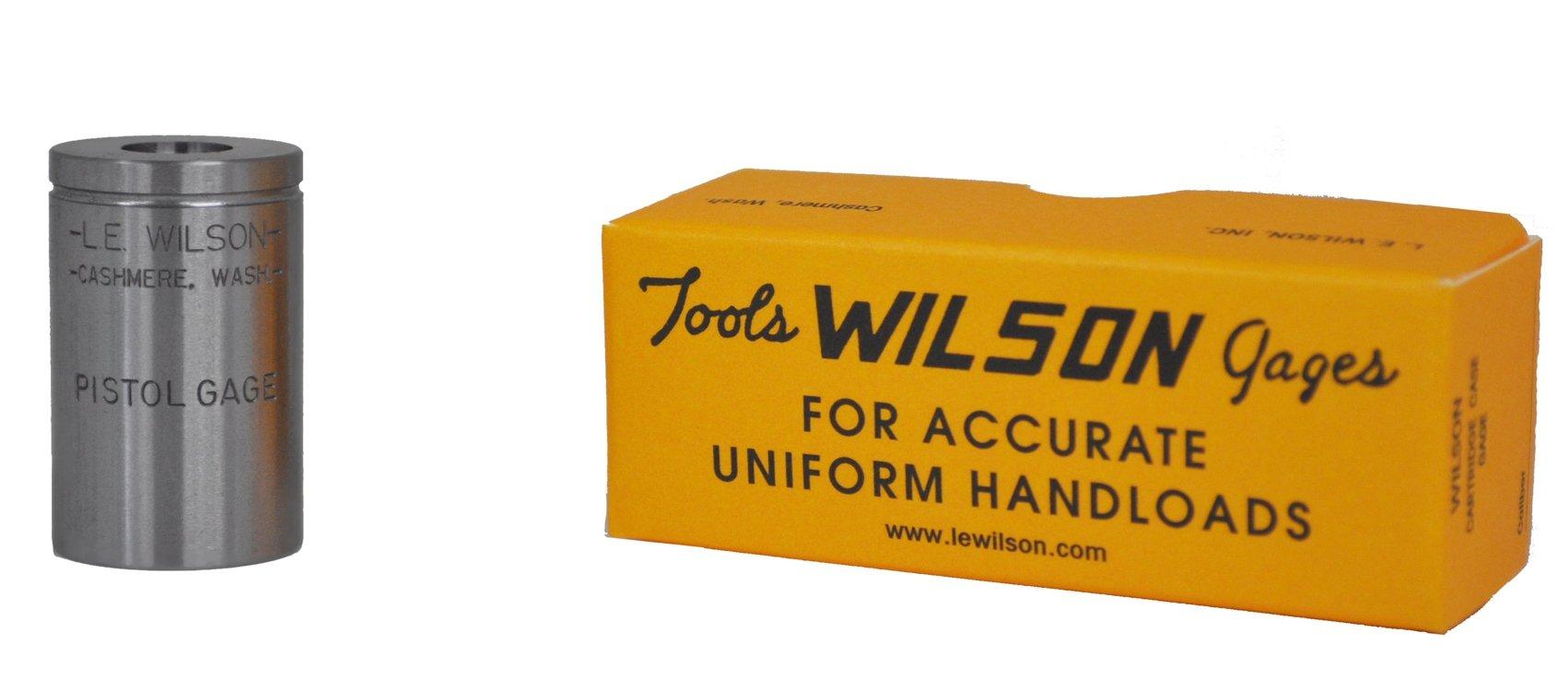L.E. Wilson PMG-380 380 Auto Pistol Max Gage, Polished Steel