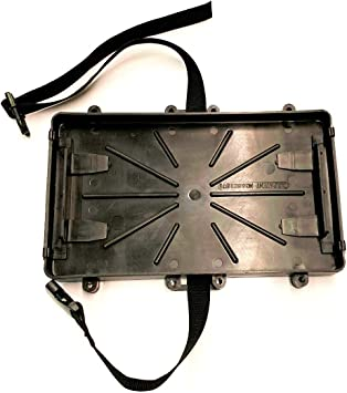 Marine Battery Holder Boat RV Battery Tray Group 24 Series With Strap