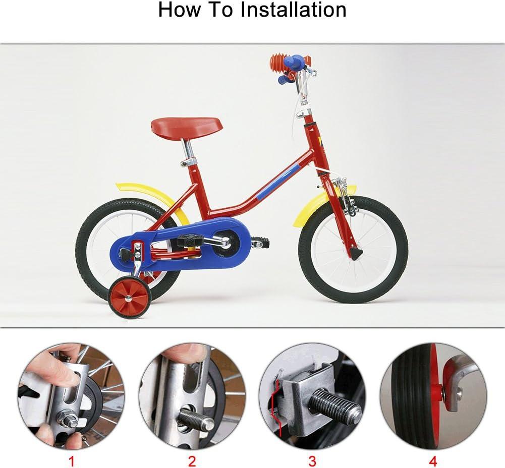 Ruedines para bicicleta, para ruedas de 12 a 20 pulgadas, ideal ...