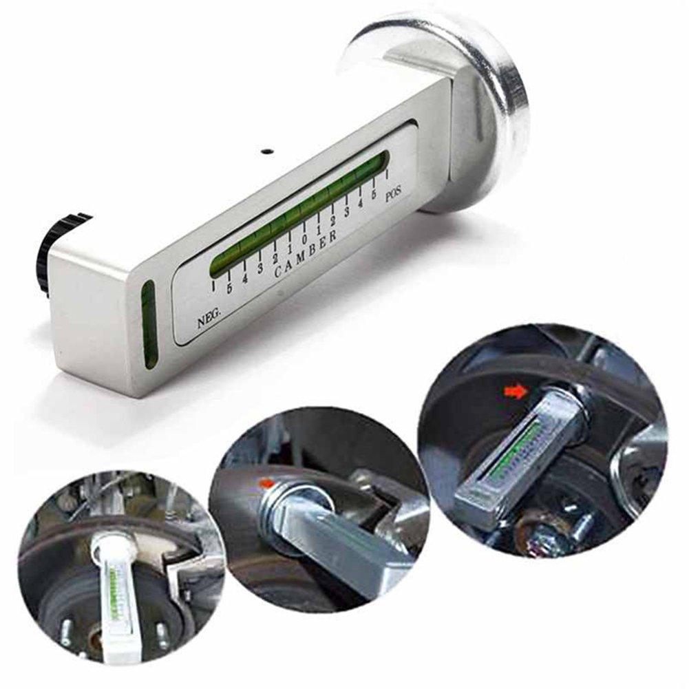 Outil de jauge magn/étique universel pour camber de voiture Camber Outils de mesure dangle dalignement de roue damortisseur de jante