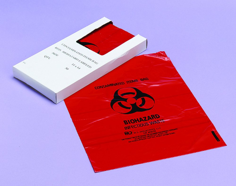 Briggs Healthcare Medical Action Ultra-Tuff Infectious Waste Disposal Bags (Bulk) by Briggs Healthcare